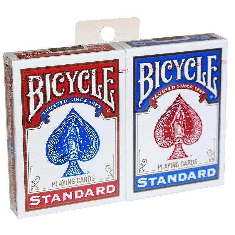 Bicycle Spielkarten in Rot und Blau