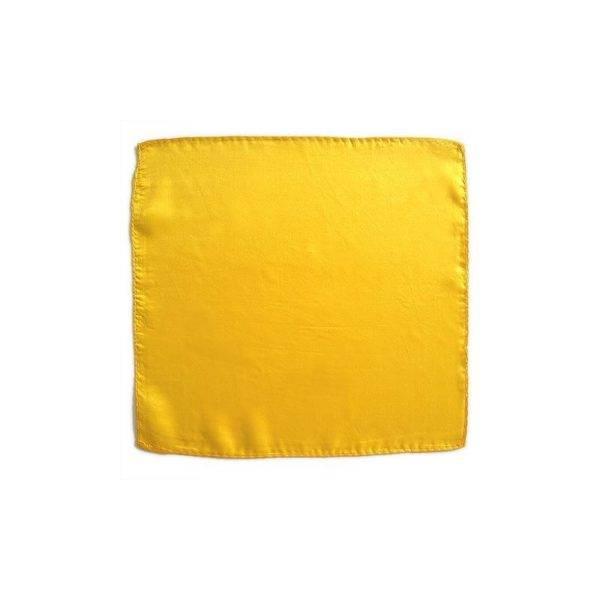 Seidentuch 45cm Gelb