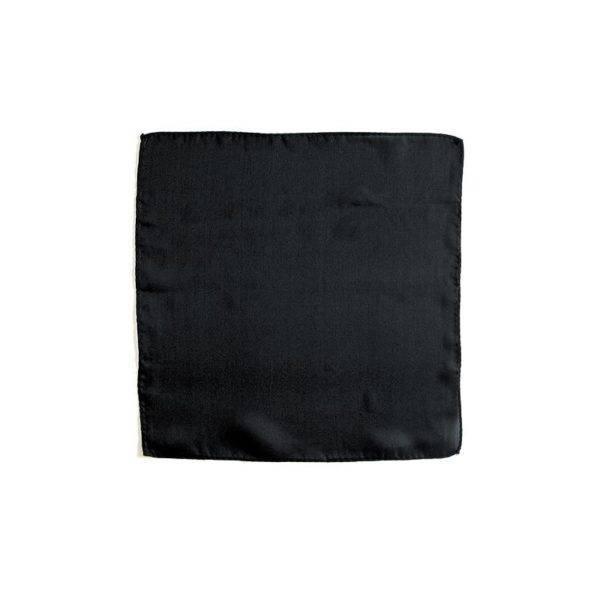 Seidentuch 45cm Schwarz