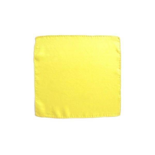 Seidentuch 45cm Zitronengelb
