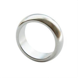 Magnetring Silber
