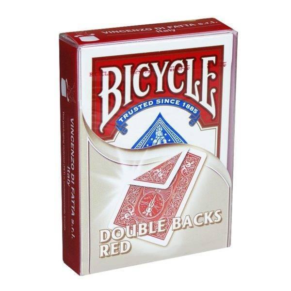 Doppelrückseite Bicycle Rot